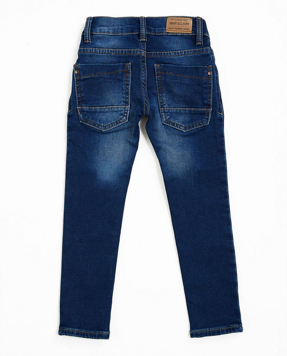 Jeans - navy - Jeans skinny bleu marine, sweat denim